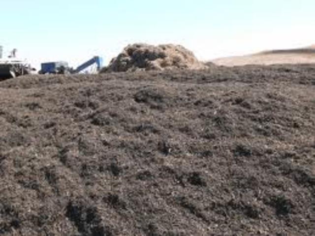 come creare mucchio compost