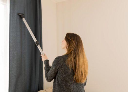 Come pulire le tende con il vapore