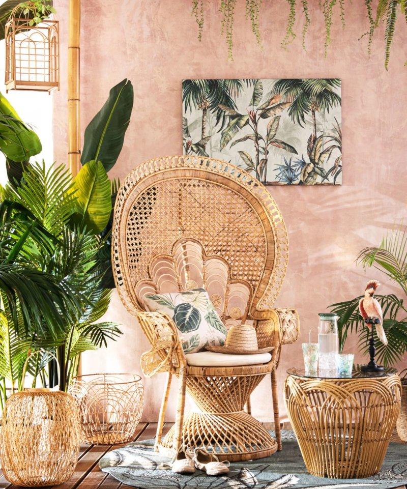 quadro-maisons-du-monde-giungla-vintage-shabby