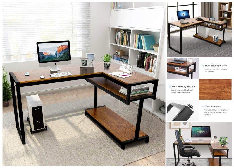 scrivania-design-angolare-3ripiani-legno-noce-nero
