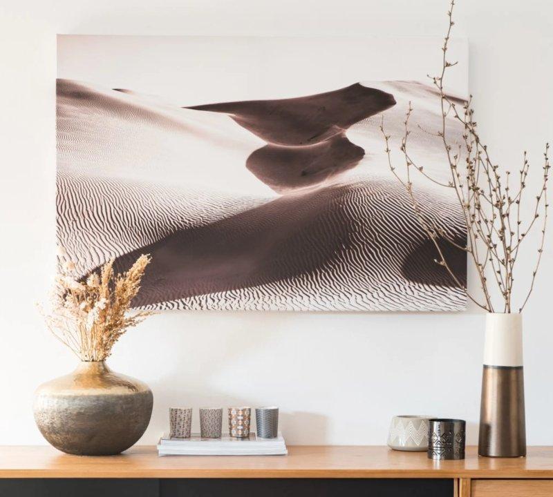 stampa-su-tela-colori-tenui-marrone-deserto