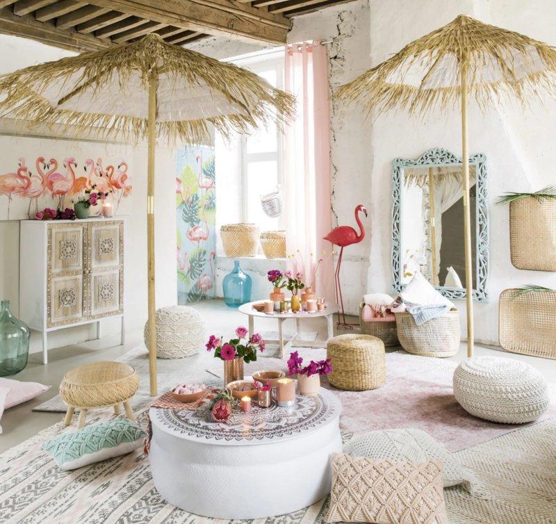 tela-fenicotteri-rosa-maison-du-monde