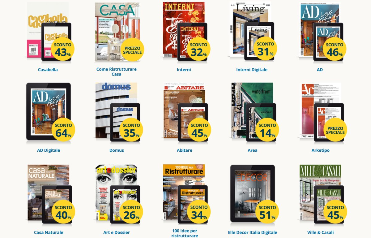 abbonamenti-riviste-architettura-design