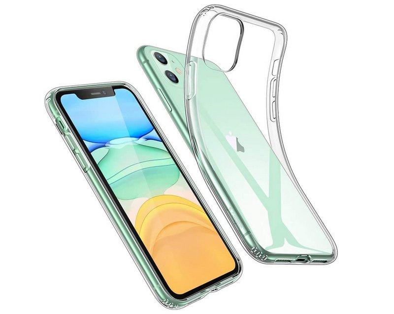 cover-compatibile-iphone-11-economica-silicone-trasparente