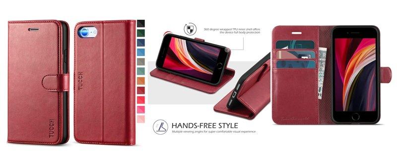 custodia-flip-libro-iphone-se-2020-amazon-tutti-i-colori-disponibili