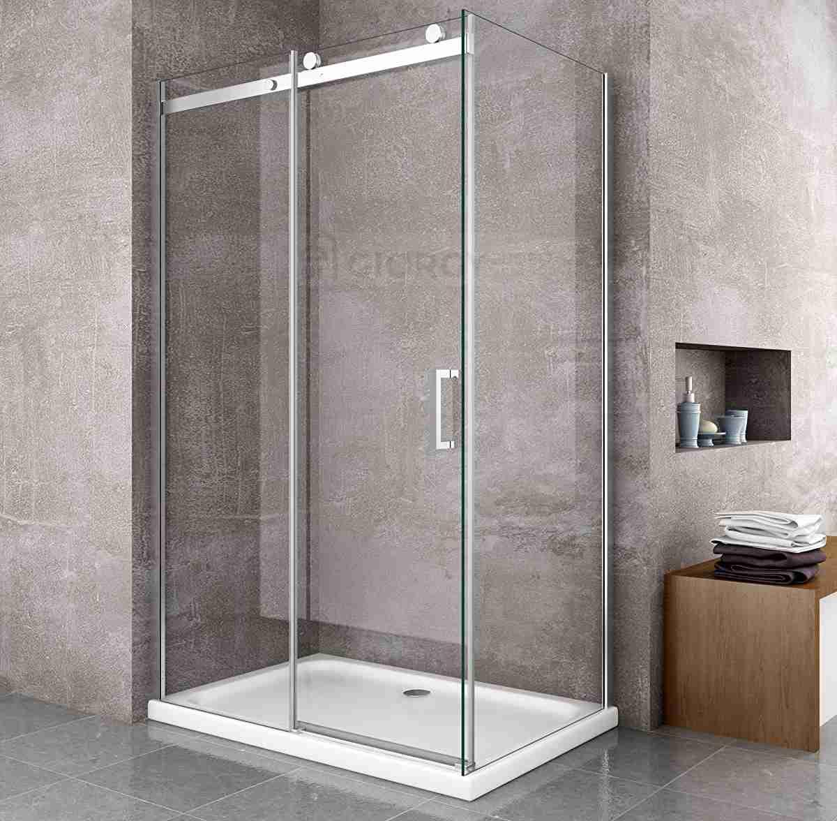 box-doccia-lusso-cristallo-temperato-8mm-porta-scorrevole-telaio-alluminio