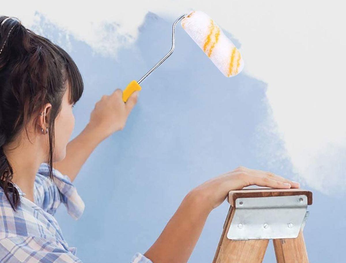 come-dipingere-parete-con-rullo