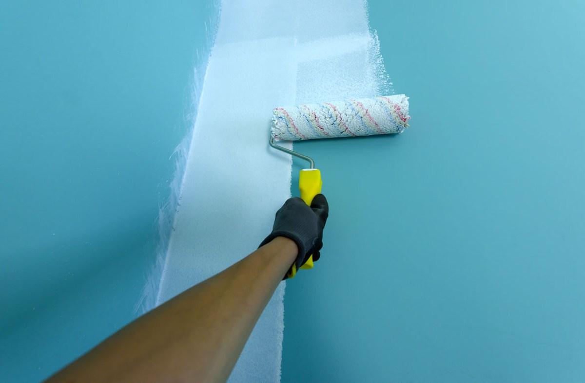 come-tinteggiare-parete-con-rullo-guida