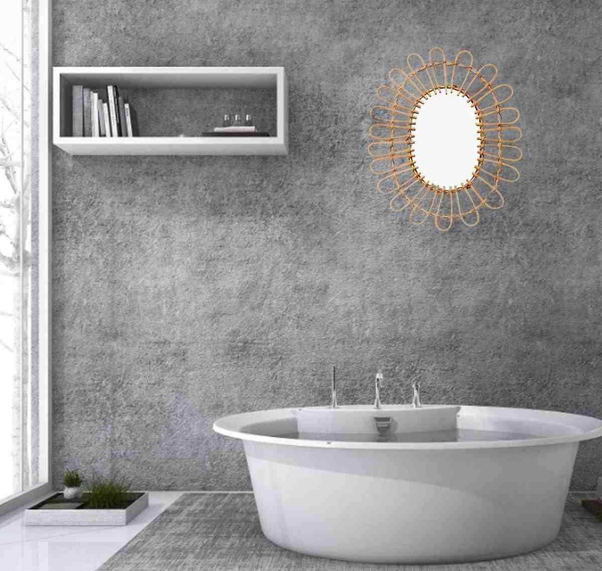 specchio-di-design-rattan-forma-ovale-per-bagno