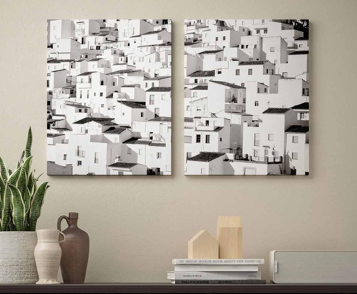 quadro-stampa-su-tela-ikea-paese-montagna-bianco-e-nero