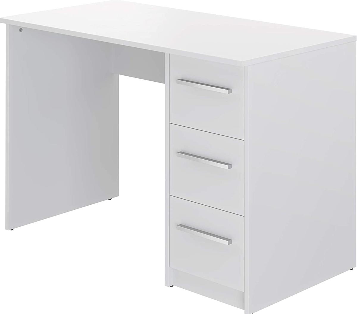 scrivania-bianca-classica-con-cassettiera-per-ufficio-pc-computer