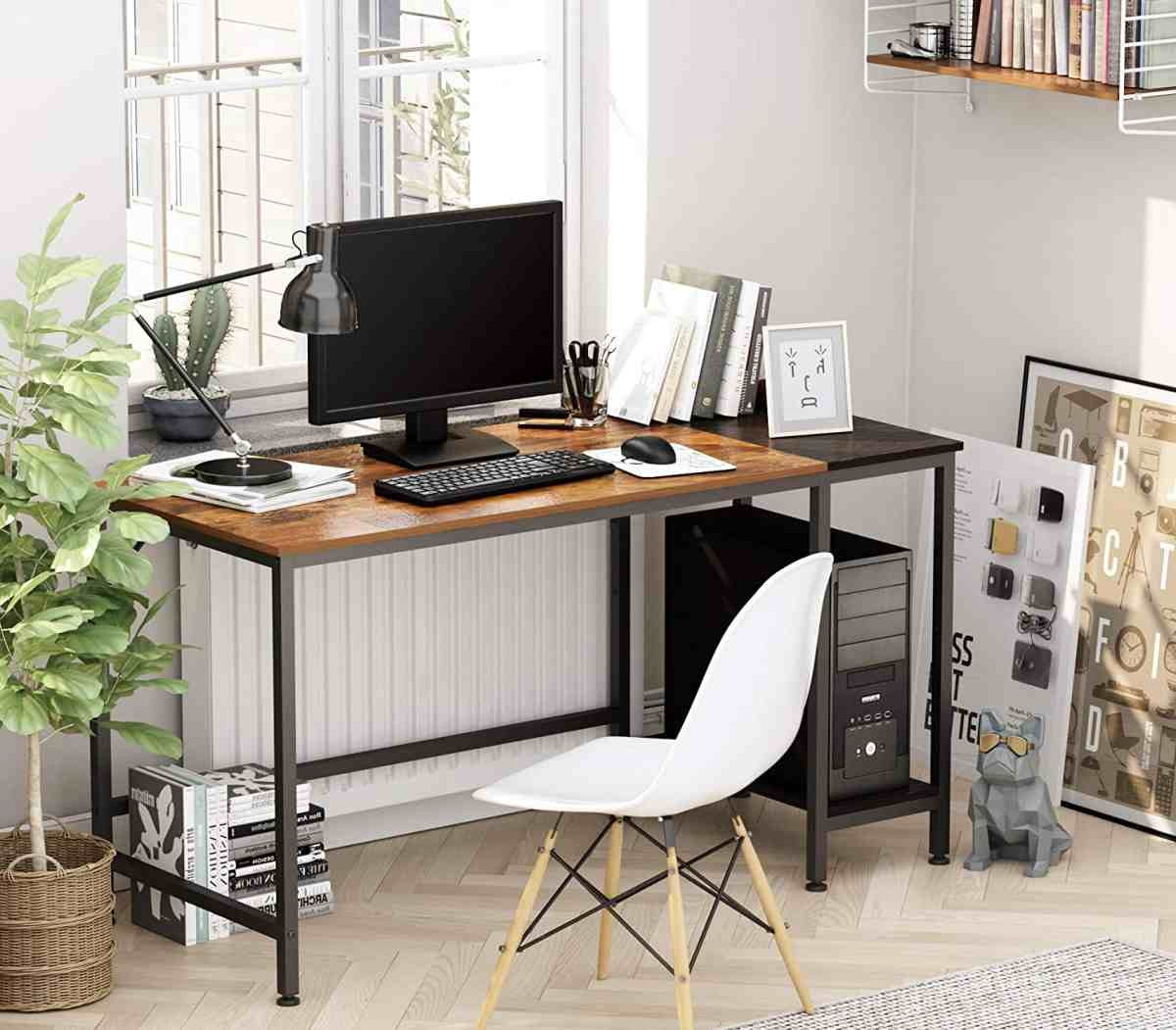scrivania-da-lavoro-per-pc-fisso-o-portatile-legno-metallo-colori-legno-scuro-nero