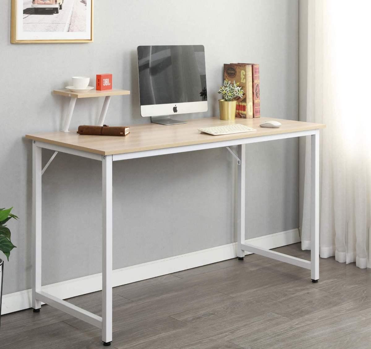 scrivania-pc-moderna-piano-legno-gambe-metallo