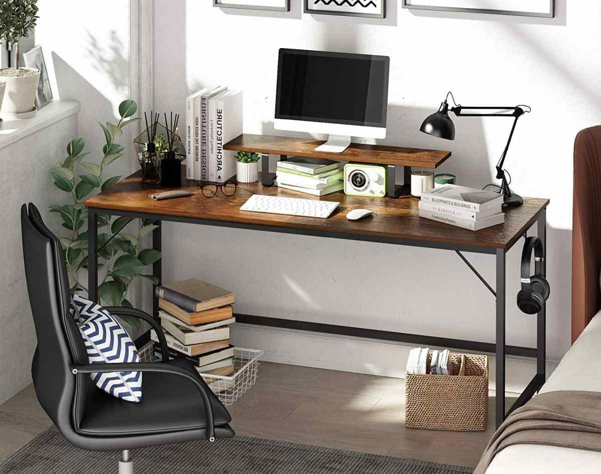 scrivania-per-pc-computer-amazon-moderna-prezzi-low-cost-economici-legno-metallo-colori