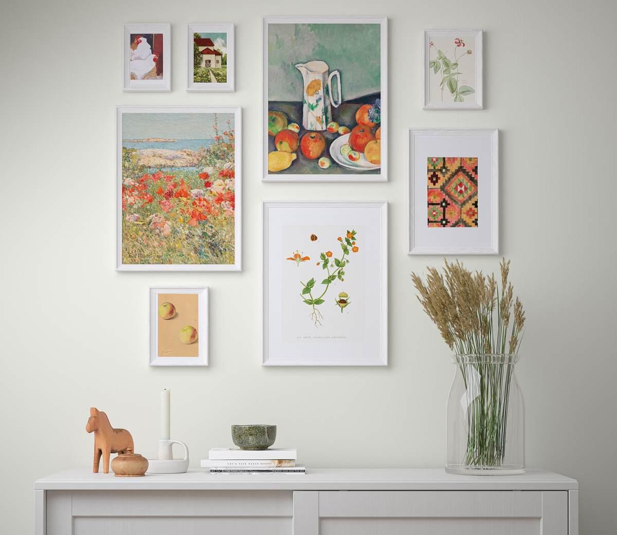 set-quadro-stampa-su-tela-ikea-vita-in-campagna-colori