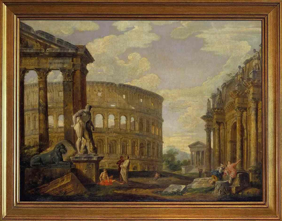 tela-roma-antica-colosseo-giovanni-paolo-panini
