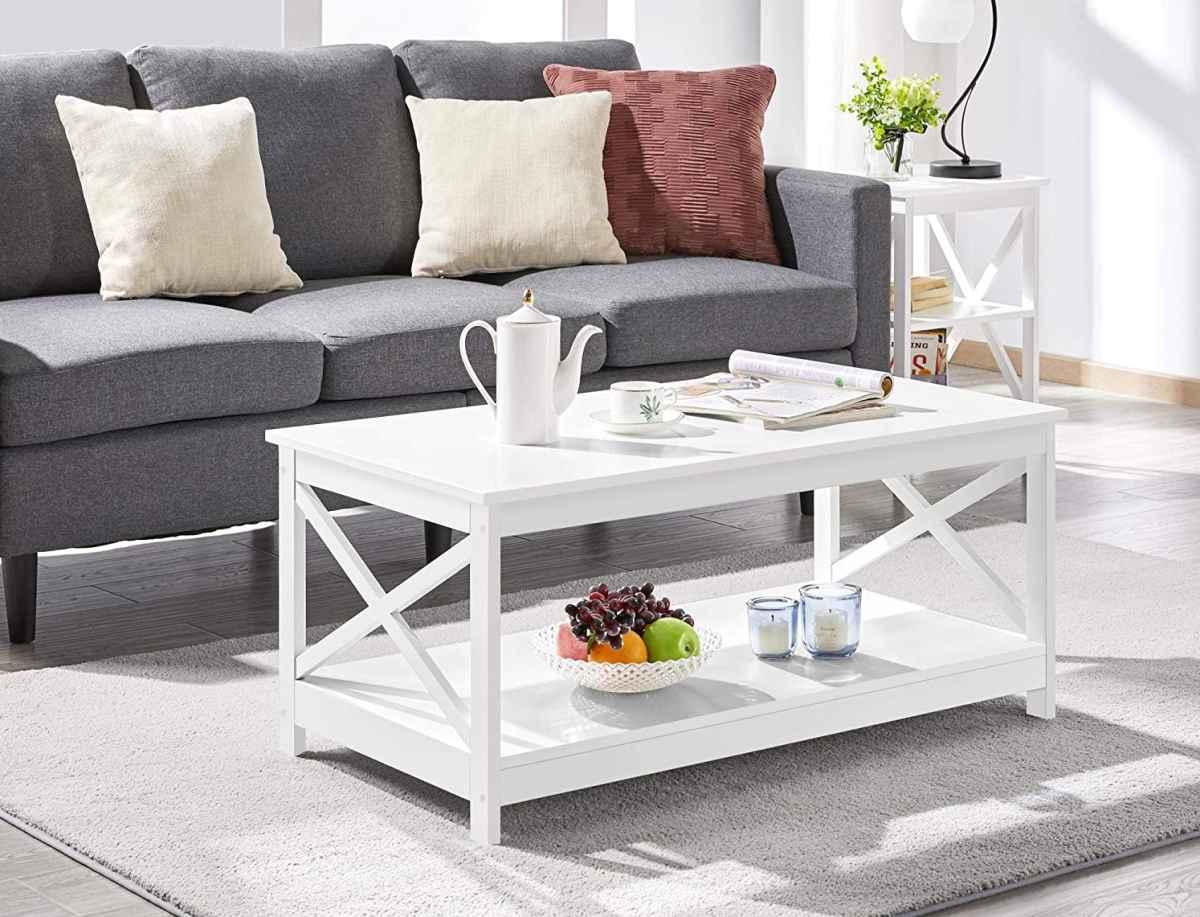 tavolino-basso-da-caffe-yaheetech-2-ripiani-bianco-in-legno