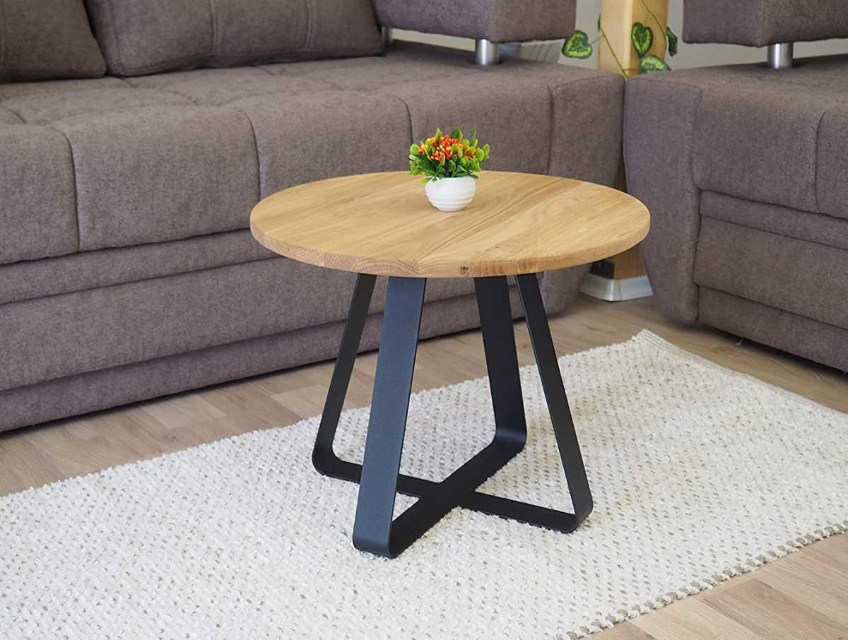 tavolino-rotondo-caffe-teiera-ripiano-in-legno-gambe-in-metallo