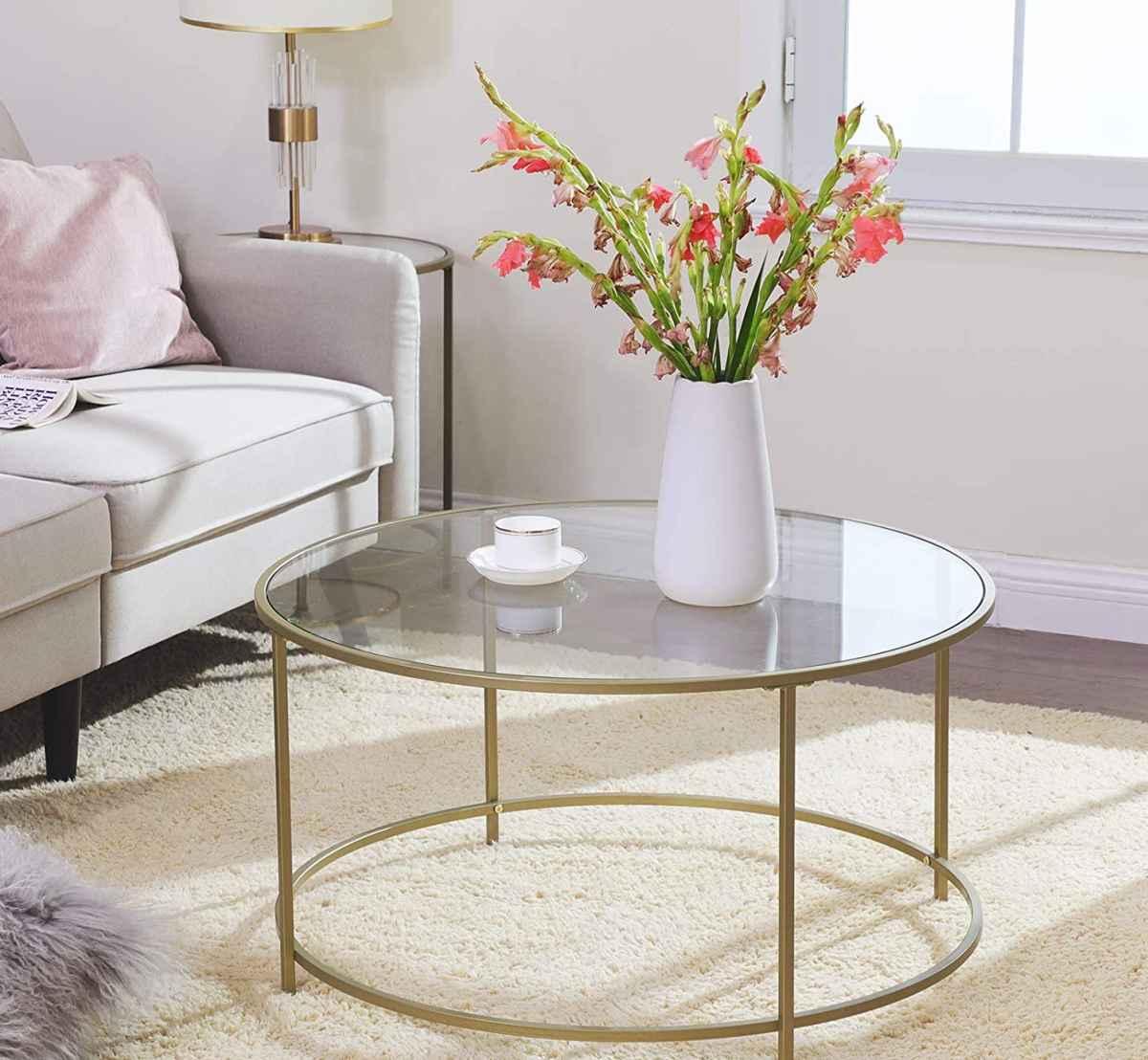 tavolino-vasagle-amazon-rotondo-vetro-temperato-moderno